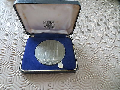 Westminster Abbey coin medals  1065-1965 silver
