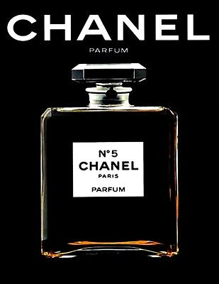 Chanel NO.5 bottle photograph - quality glossy A4 print