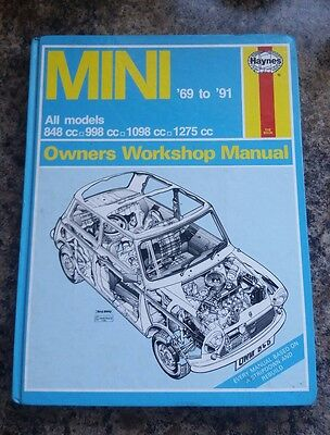 Mini Haynes Workshop Manual 69-91 no.0646