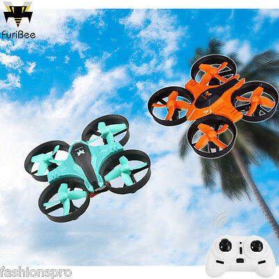 FuriBee F36 2.4GHz 4CH 6 Axis Gyro RC Quadcopter Automatic Return/3D Flip/Speed