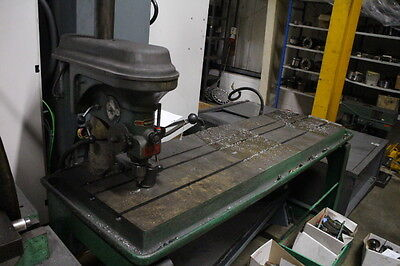 Medding drill with steel table