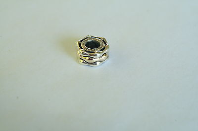 emma & roe charm silver & 10ct gold #11376507 suits pandora