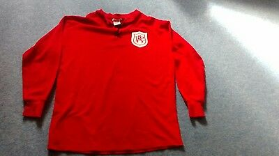 Rare Vintage Red Arsenal  Football League Shirt Size L in good condition