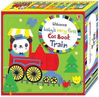 Baby's Very First Cot Book Train - 9781409597063