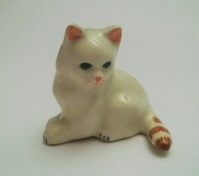 chat miniature en porcelaine,collection,animal,, cat, kat, poes  G-tp11-13