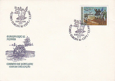 Portugal / Acores Europa First Day Cover 1982