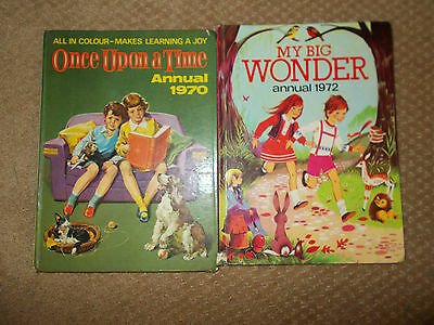 2 Children's Annuals 1970 and 1972 in good condition