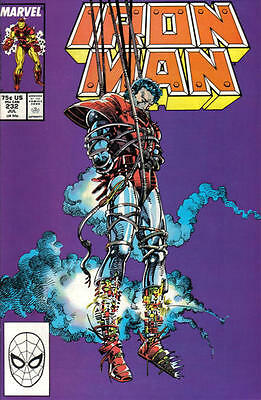 IRON MAN 232 BARRY SMITH 1st SERIES MARVEL AMERICAN COMIC