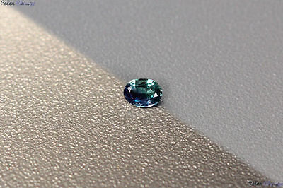 0.115 Ct Unique 100% Nr' Dancing Color Change Alexandrite Gemstone Aaa Oval !!!