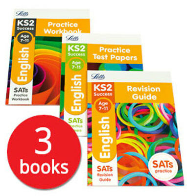 Letts KS2 English SATs Revision Help Collection - 3 Books