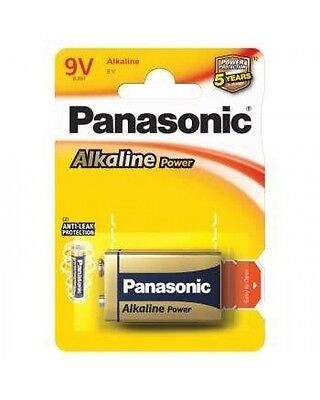 Pila Panasonic Power 9V 6Lr61 6Lf22 Transmisor Pro Power
