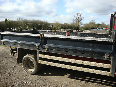 Ford Transit Mk7 Drop Side Tipper Body 4 Stage Ram Complete Hydraulics Electrics