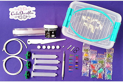 Cake Deco Pen Kit   Must have Christmas and all the Cake Makers Gift   Was £ 69