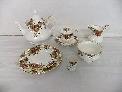 C4 Porcelain Royal Albert Old Country Roses (1962) 9A2G