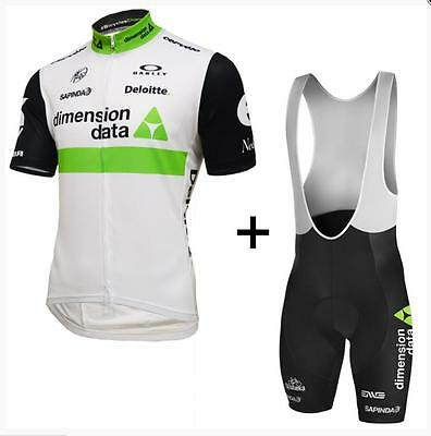 New Men Niños Bike Dimension Data 2016 Jersey Bib Shorts Cycling Ropa Ciclismo