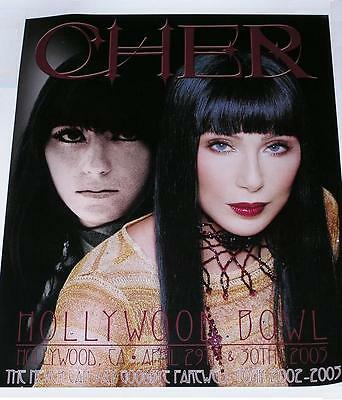 Cher Living Proof/Farewell Tour Hollywood Bowl Lithograph 128/350