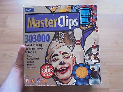 MASTERCLIPS Clip Art 303,000 images_retro PC software_ships from AUS!_xx58_14H