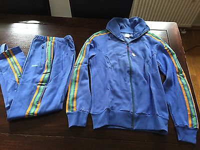 Vintage Adidas Track Suit 1970's Rare Made in West Germany Deadstock Girls