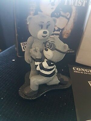 Bad Taste Bear Pinch and Twist Silver screen Monochrome rare limited to 100