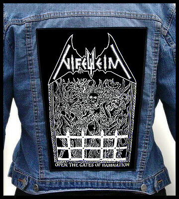 NIFELHEIM - Open The Gates...  --- Giant Backpatch Back Patch