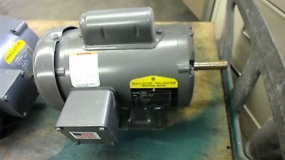 Baldor L3504, .5 Hp, Ac Motor, 115/230 Volts, 1725 Rpm, 4P, 56 Frame, Single Ph