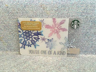 Starbucks 2016 Your One Of A Kind Christmas Holiday Gift Card