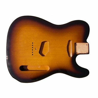 Hosco Tele Body Tobacco Sunburst (Two Tone)