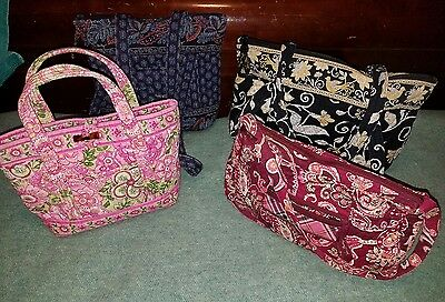 Lot of 4 Vera Bradley Purses Retired Patterns