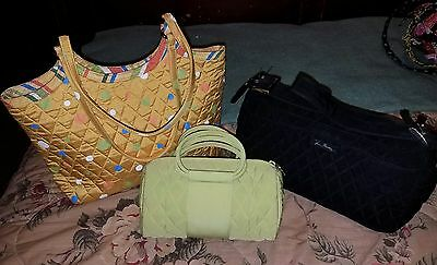 Vera Bradley Lot of 3 Purses