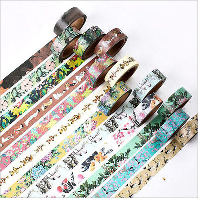 15MM*7CM Traditional Ancient China Pattern Washi Tape Scotch DIY tape