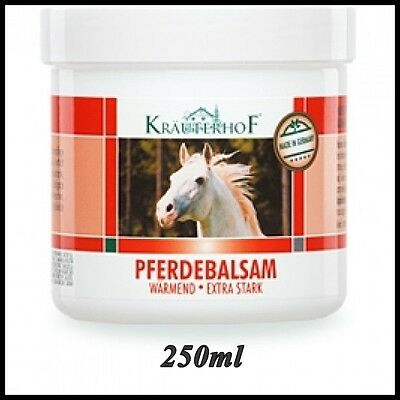 Asam  Pferdebalsam Horse Chestnut Balm-Extra Strong Warming Effect 250 ml