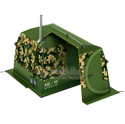 Cover for Outdoor Sauna Mobiba MB-10 (Cell) - Russian banya
