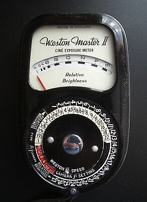 Ilford Weston Master 2 (II) photograpic light meter Model No S141/736