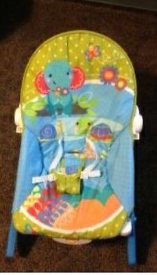 Fisher Price Infant to Toddler Rocker Elephant Friends