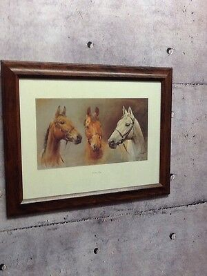 The Three Kings Horse Racing Framed Print