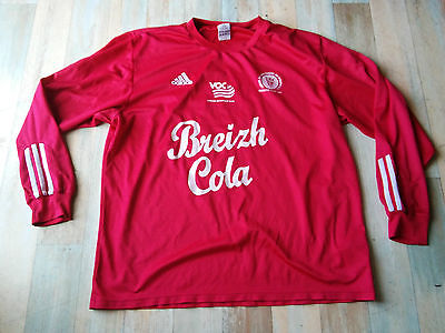 Maillot FOOT ADIDAS VOC VANNES OLYMPIQUE CLUB N°11 TAILLE/XL/D7 TBE