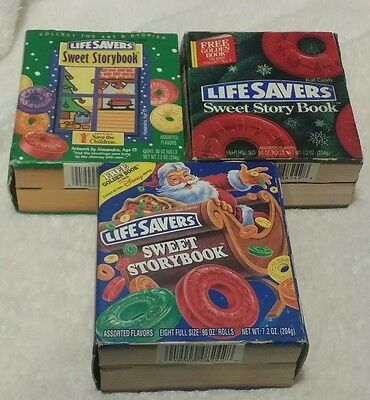 Life Savers Sweet Storybook Lot of (3) Assorted Flavors