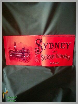 Sydney and Surroundings, New South Wales, Australia. Vintage Circa 1920.