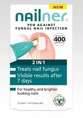 NAILNER 2in1 PEN AGAINST FUNGAL NAIL INFECTION ** FREE POSTAGE**