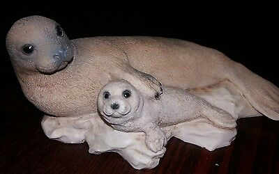 Castagna Seal and pup 1988