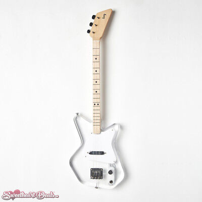 NEW Loog Guitars - Electric Loog Lucite 3-Stringed Solidbody Guitar Kit