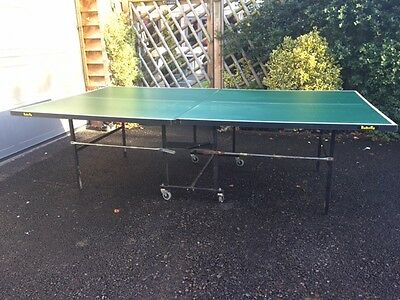 'Butterfly' Table Tennis Table Professional Size(9ftx5ft) Rollaway w/Accessories