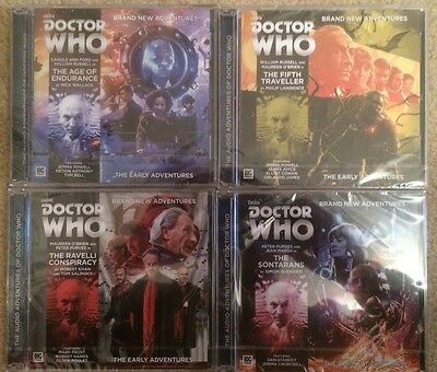 Doctor Who Early Adventures 3.1-3.4 Big Finish Audio