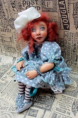 "ooak art doll ""Lilli"""