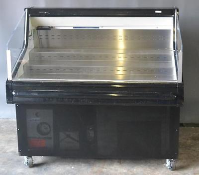 "Used Hussmann SHM-4 48"" Open Top Deli Display Case Refrigerator , Excellent Work"