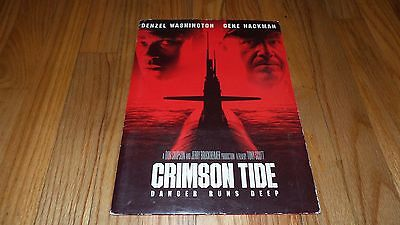 Crimson Tide (1995) Denzel Washington Gene Hackman (Press Kit) 8x10 Prints