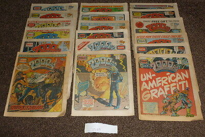 2000ad programs 324 from 1980 - 1989