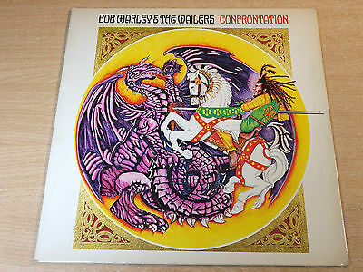 Bob Marley & The Wailers/Confrontation/1983 Gatefold LP/First Tuff Gong Issue