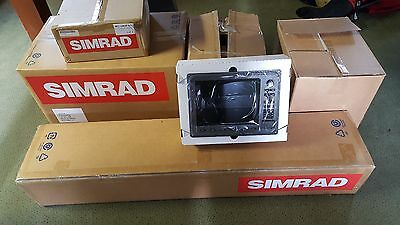 Complete Marine Radar Set  (includes 3 x SIMRAD NSE12 Displays) ***REDUCED***