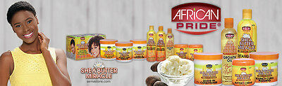 African Pride Shea Butter Miracle Moisture Intense Hair Care Styling Products
